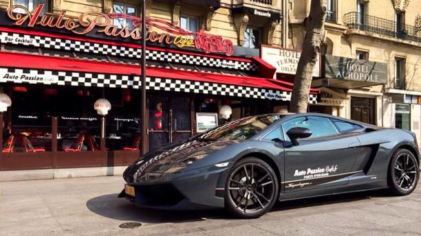 Auto Passion Café Façade