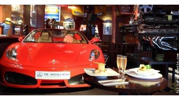 restaurant auto passion caf paris 14 me al sia menu avis prix et r servation. Black Bedroom Furniture Sets. Home Design Ideas