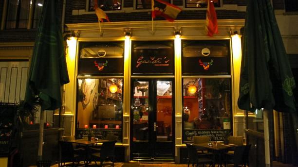 Restaurant Gaudi's Ingang