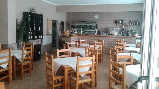 Xuntos Sala del restaurante