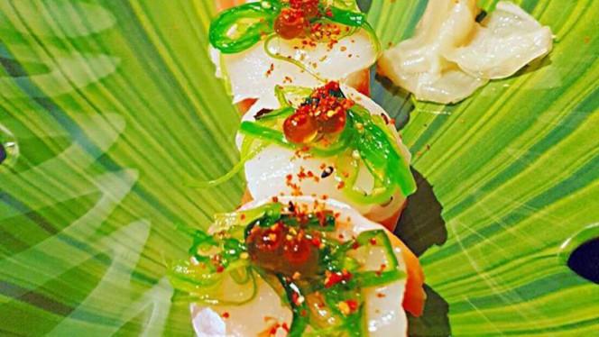 Prato - Cais 35 Sushi, Porto