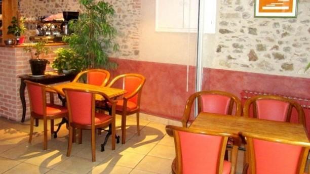 Hôtel-restaurant de la Montagne Noire Vue de la salle