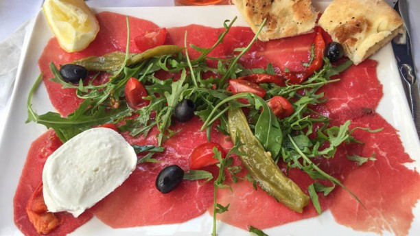 Le Carpaccio Suggestion de plat