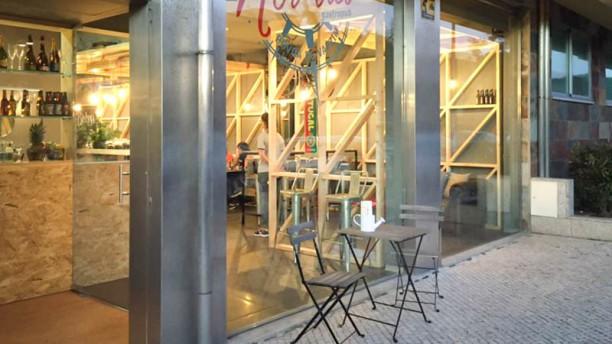 Nor'três fachada do restaurante