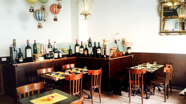 Cantina Concordia Sala del ristorante
