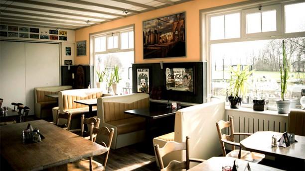 Hill's American Diner Het restaurant