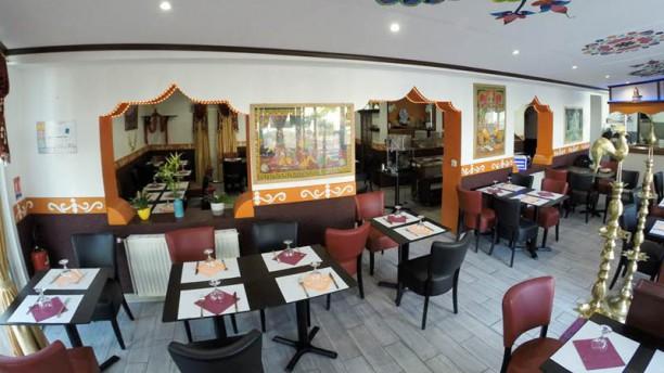 Bollywoodcafe Vue de la salle