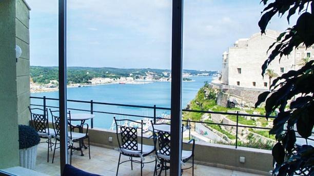 Mirador des Port Vista desde el restaurante Mirador des Port