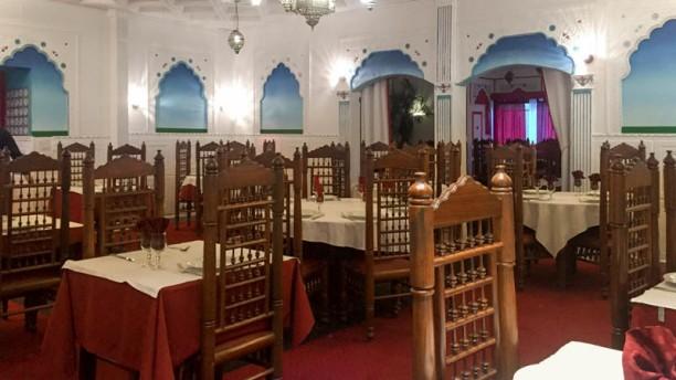 Palais Maharajah Vue de la salle