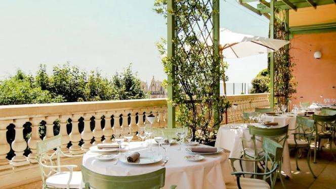Zoom sur la terrasse - Les Terrasses de Lyon, Lyon