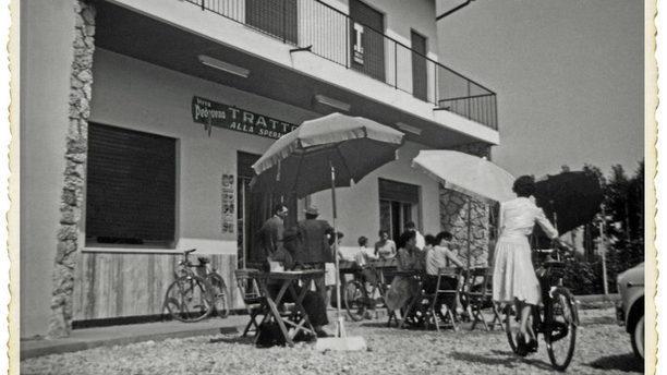 Osteria Berati bell'immagine d'epoca