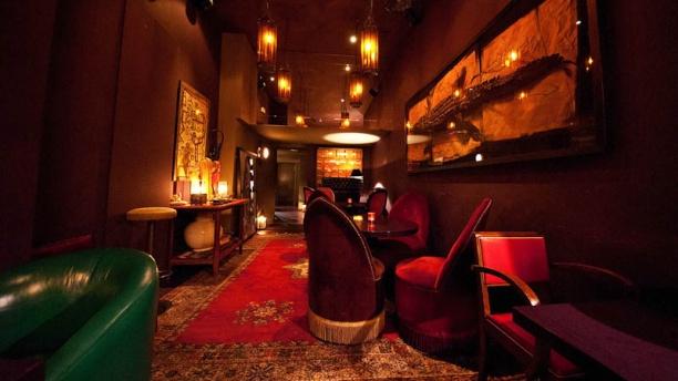 Bandido Sala con decoración elegante