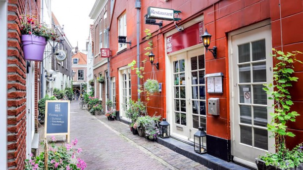 Restaurant Het Pakhuis Ingang