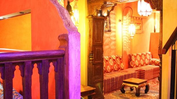 Ganesh Caffè Orientale sala