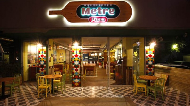 Metre Pizza Entrance