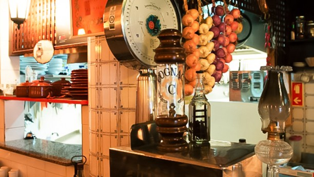 Madragoa Café sala