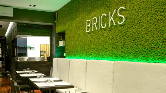 Vista sala - Bricks Pop Tapas e Pizza, Torino