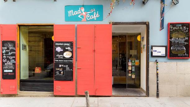 Mad Café Vista entrada