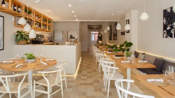 Pinzell restaurante Vista de sala