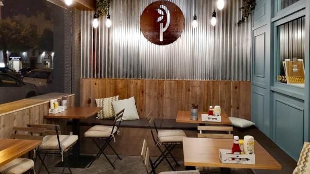 La Pepita Burger Bar Palma Vista de la sala