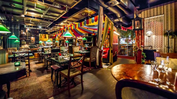 Grill Restaurangens rum