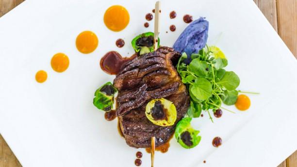 La Belle Ibiza Caramelized duck magret