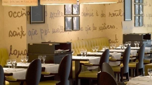 Brasserie Victor Hugo Vue de la salle