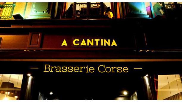 A CANTINA Brasserie Corse - Quartier des Grands Hommes Devanture