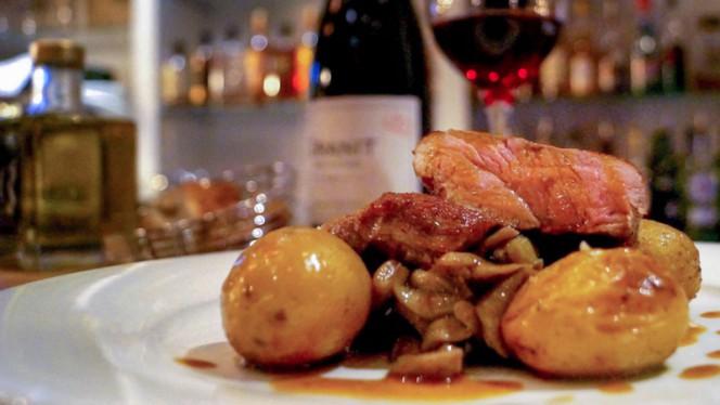 Veau Tigré - A CANTINA Brasserie Corse - Quartier des Grands Hommes, Bordeaux