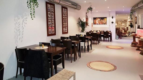 Oost Afrikaanse Restaurant Asmara Het restaurant