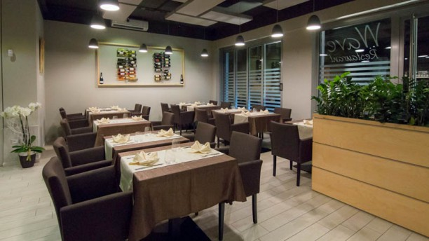 Wave restaurant Sala del ristorante