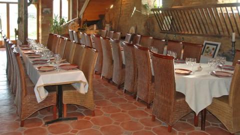 restaurant - Ferme Auberge du Domaine de la Couture - Chambonchard