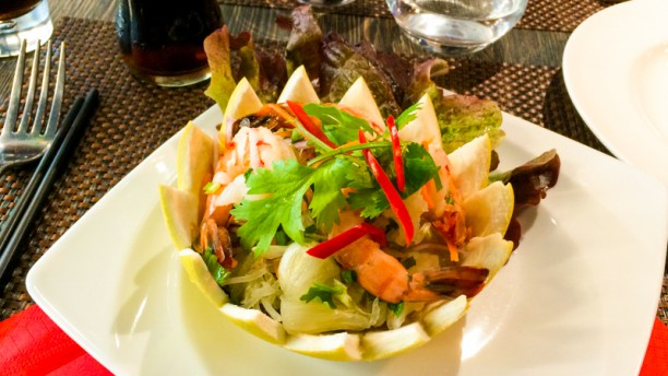 Thai Basilic Suggestion de plat
