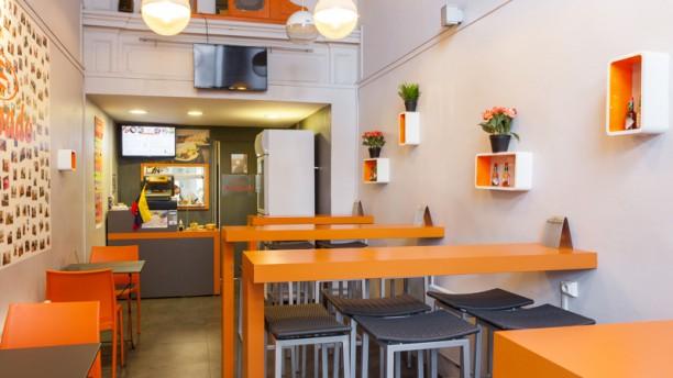 Arepado Salle du restaurant