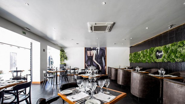 Napoli Restaurante Vista do interior