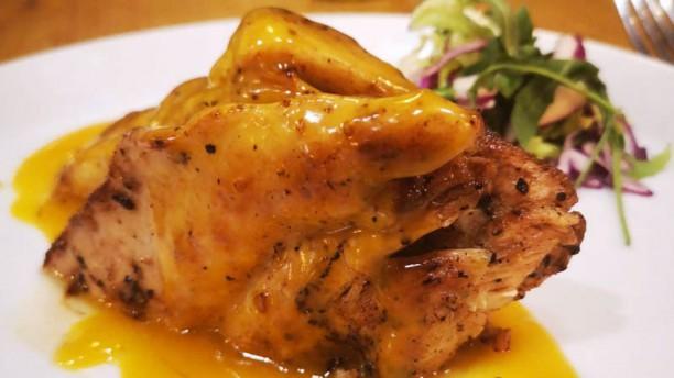 Guayabal Pechuga de pollo en salsa de maracuyá