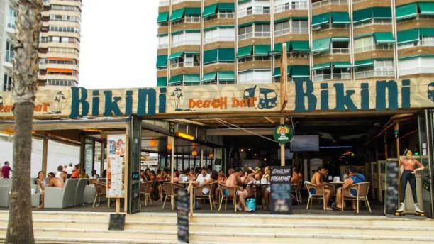 Bikini Beach Bar - Benidorm Vista terraza