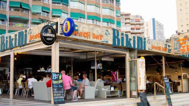 Bikini beach bar photos