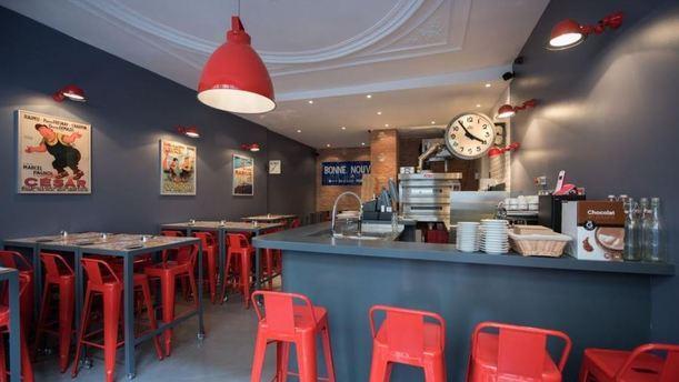 La Cerise Sur La Pizza Bonne Nouvelle In Paris