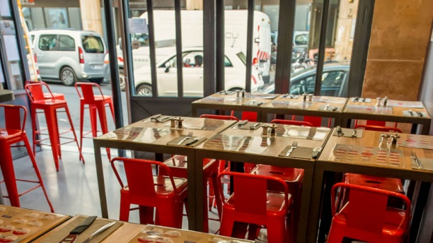 La Cerise sur la Pizza - Bonne Nouvelle Vue table