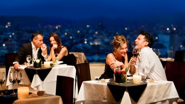 Visual Restaurant Panoramic - Gran Hotel Torre Catalunya Vista terraza
