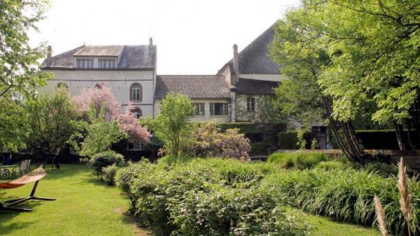 Auberge des Vieux Moulins Banaux Notre jardin