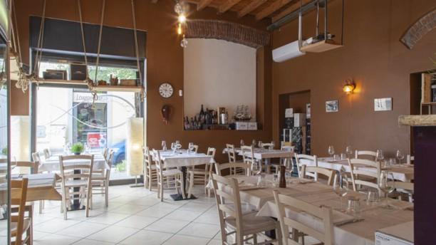 Osteria Siciliana Monza Vista sala