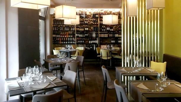 Cucina Mazzini Vista della sala