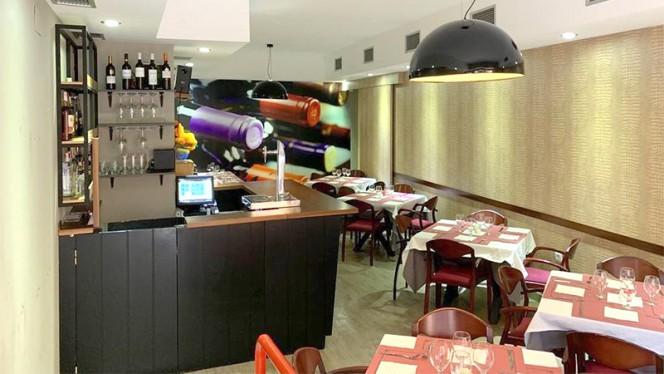 Vista sala - Restaurante Pavitra, Getafe