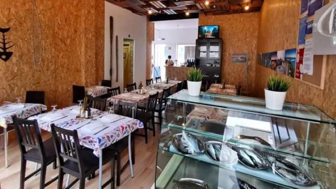 Sem Espinhas ristorante mediterraneo a Setúbal in Portogallo