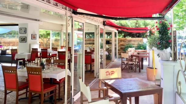 DiP restaurant Terrasse