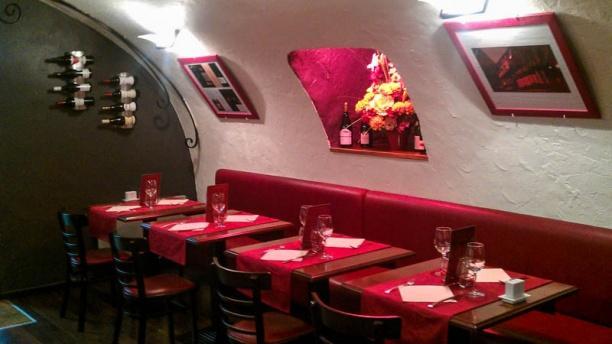 Le Bon'Art (restaurant Le Grapillon) Vue de la salle