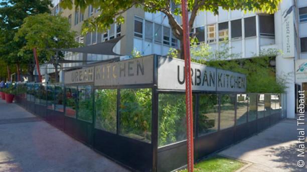 Urban kitchen vue de l'extérieure