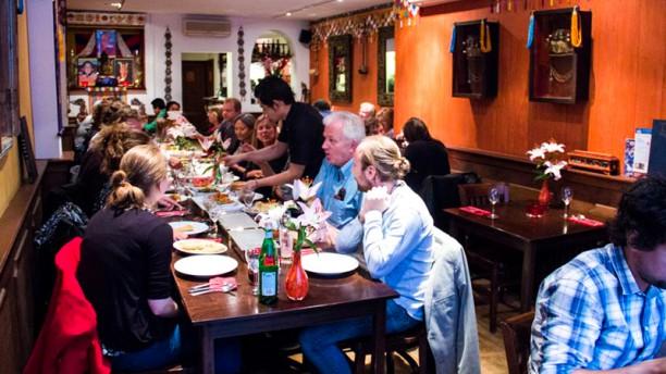 Tashi Deleg restaurantzaal